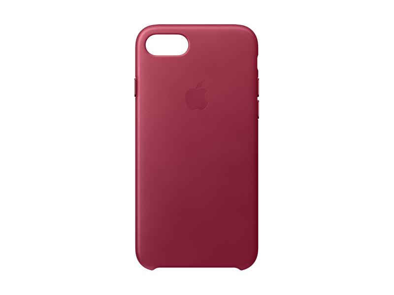Vellidte Køb Apple iPhone 7 Leather Case - Berry |  Humac Premium Reseller FV-68