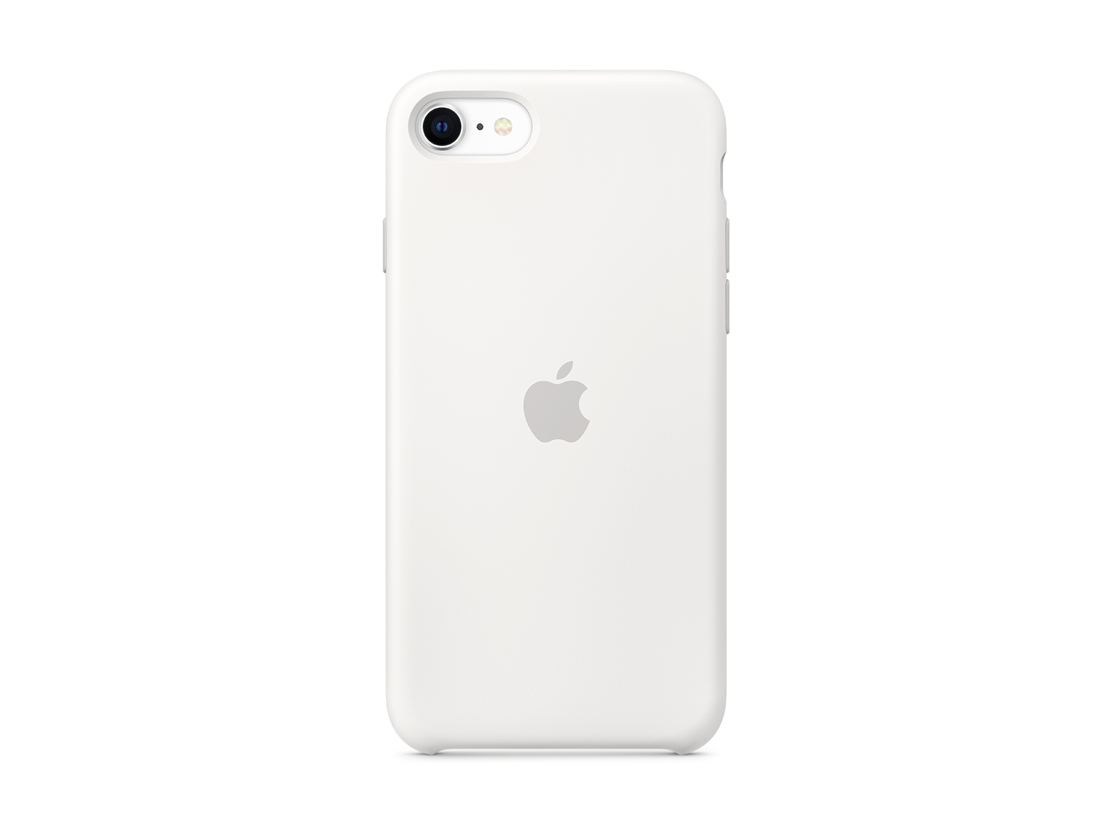 iPhone SE Silicone Case White | Køb det her | Telenor