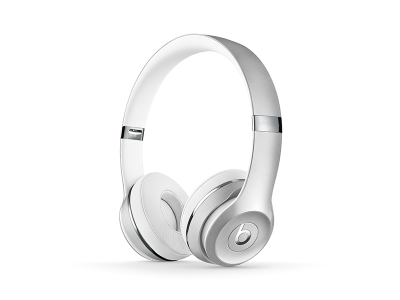Beats Solo3 WL On-Ear Headphones - Silver