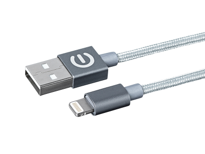 eSTUFF Allure Lightning Cable MFI 1m Space Grey
