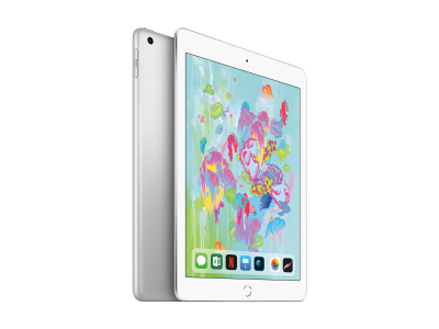 iPad 2018 Wi-Fi + Cellular 128GB - Silver