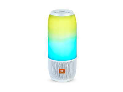 JBL Pulse 3 BT Speaker 360 LED Light Eff. White