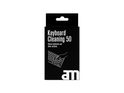 AM Keyboard Cleaning Tissues 50 pcs
