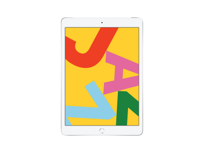 "iPad 2019 10.2"" Wi-Fi + Cell 32GB Silver"